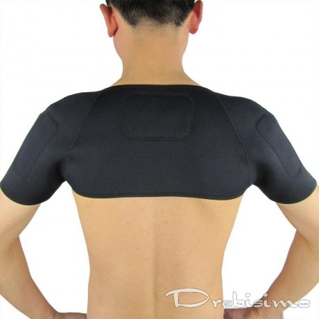Турмалинов загряващ колан за гръб и рамене