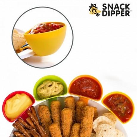 4 купички за сос - Snack Dipper