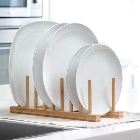 Дървен сушилник за чинии