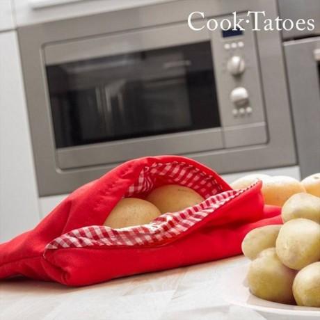 Торбичка за печене на картофи в микровълнова