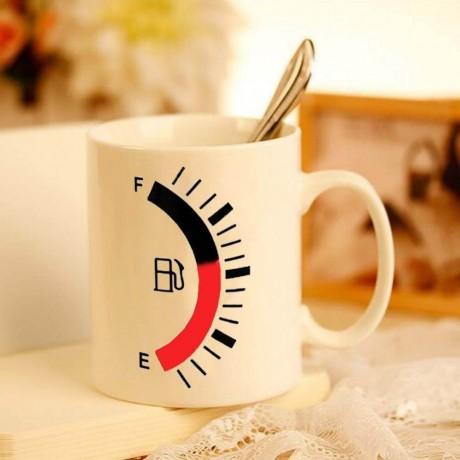 Чаша с топлинен индикатор