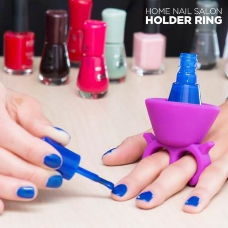 Пръстен - поставка за лак за нокти