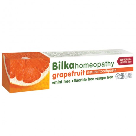 Bilka Homeopathy Grapefruit Natural Toothpaste