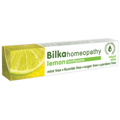 Bilka Homeopathy Lemon Natural Whitening Toothpaste