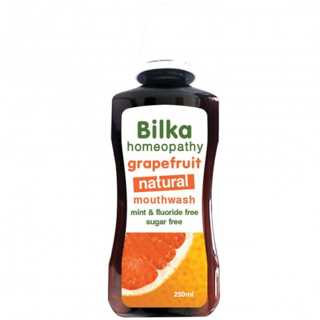 Bilka Homeophaty Grapefruit Natural Mouthwash
