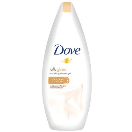 Dove Silk Glow Nourishing Shower Gel