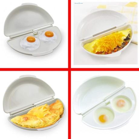 Фирма за готвене на яйца в микровълнова