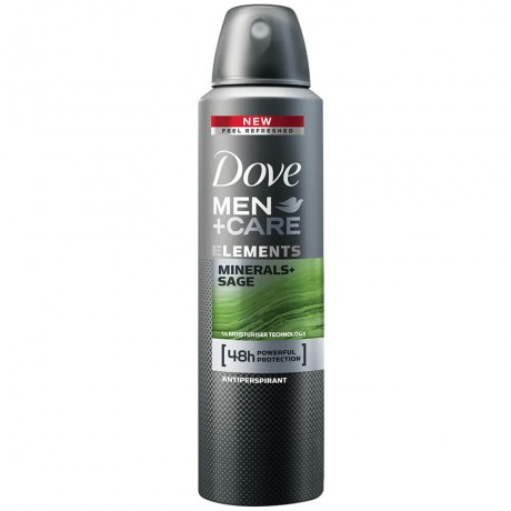 Dove Men + Care Elements Minerals + Sage Dry Spray Antiperspirant