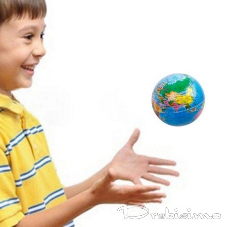Антистрес топка - глобус
