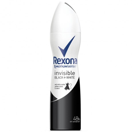 Rexona Invisible Black + White Anti-Perspirant