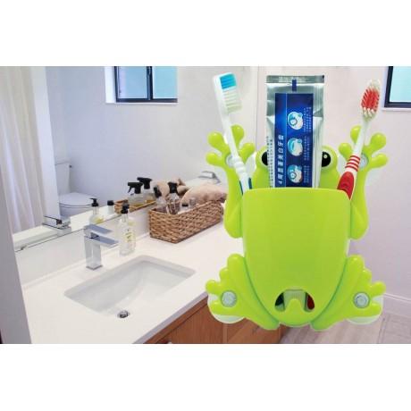 Поставка за четка за зъби - жабка