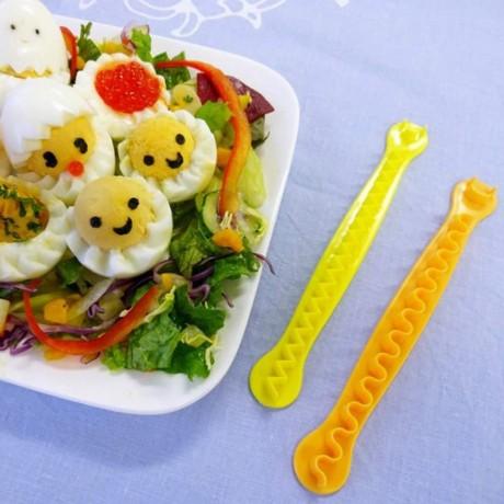 Лента за фигурално рязане на сварени яйца