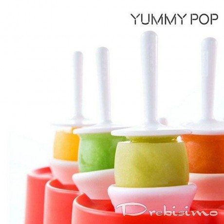 9 бр. форми за сладолед на клечка