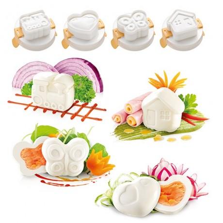 Комплект форми за оформяне на яйце Tescoma от серия Presto