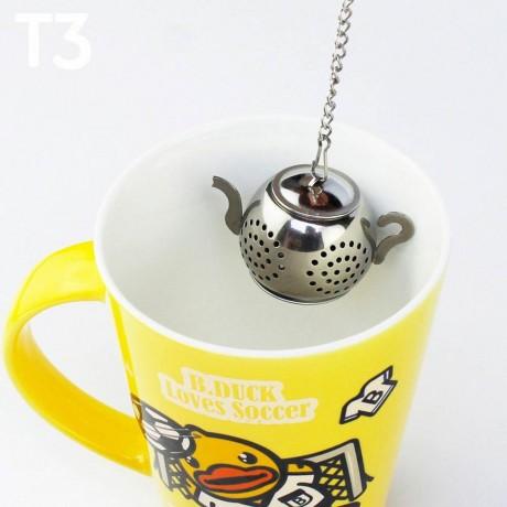 Цедка за запарване на чай - чайниче
